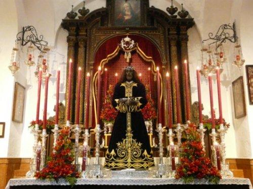 Cristo Rey Año 2009<br />Autor: Manuel Prián Chaves